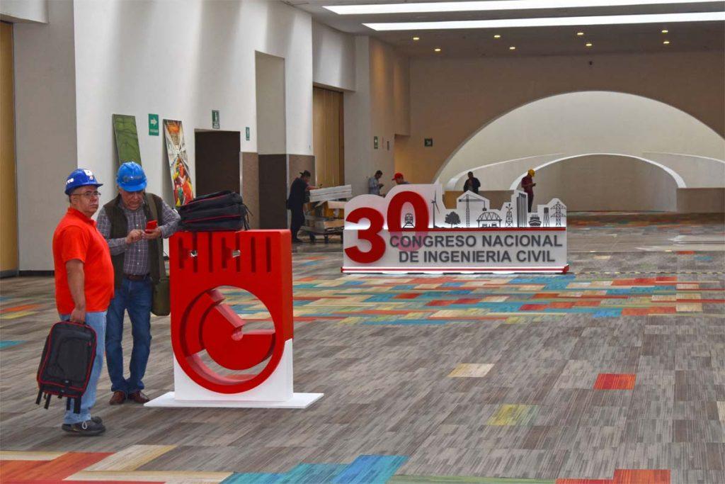 Registro para evento 30 Congreso Nacional Ingenieros Civiles
