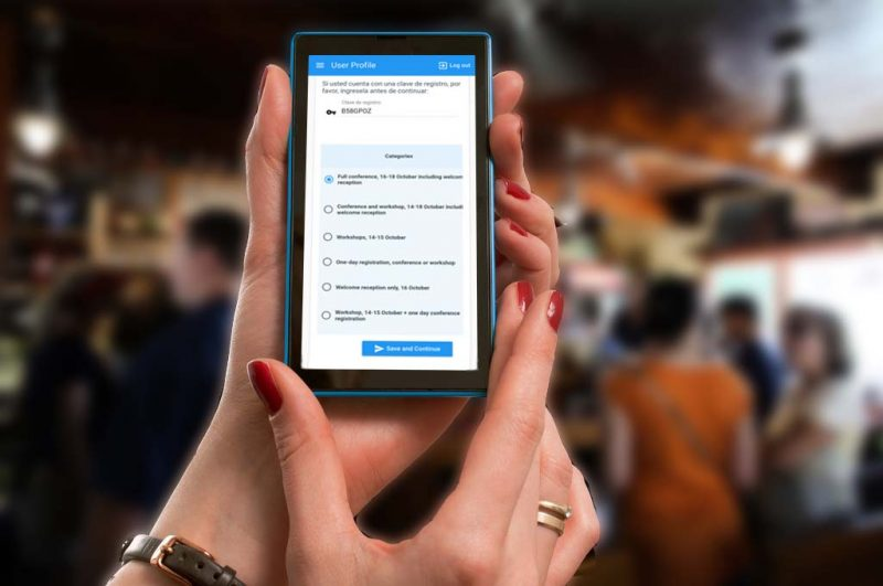 Registro touchless, un nuevo servicio para eventos